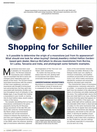 Moonstones: Shopping for Schiller