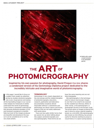 The Art of Photomicrography