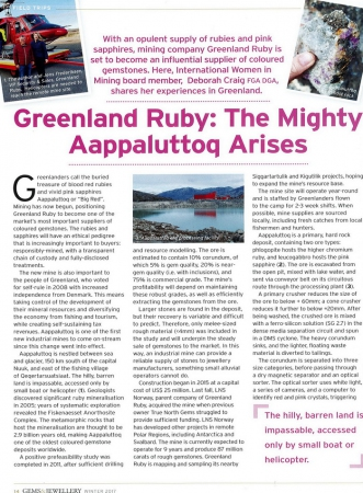 Greenland ruby the mighty aappaluttoq arises