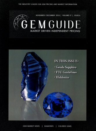 GemGuide Vol. 37 Issue 6 (Nov.-Dec. 2018)