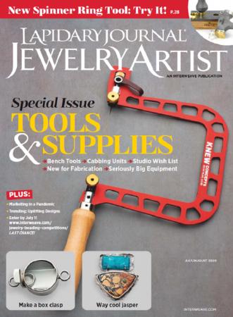 Lapidary Journal Jewelry Artist Vol. 74 Issue 4 (Jul.-Aug. 2020)