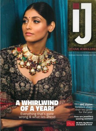 IJ: Indian Jeweller Vol. 10 Issue 3 (Dec.2019-Jan. 2020)