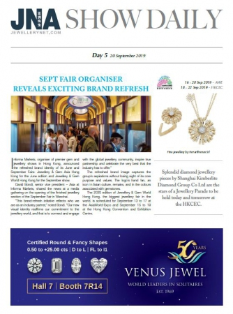 JNA Show Daily Issue 5 (20 Sep 2019)