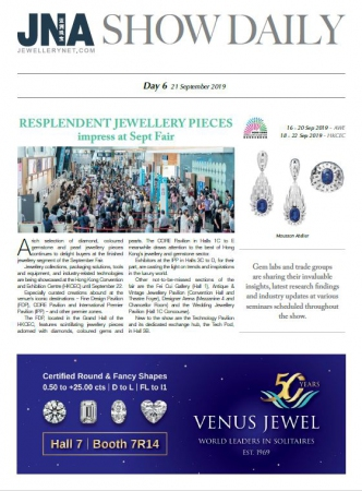 JNA Show Daily Issue 6 (21 Sep 2019)