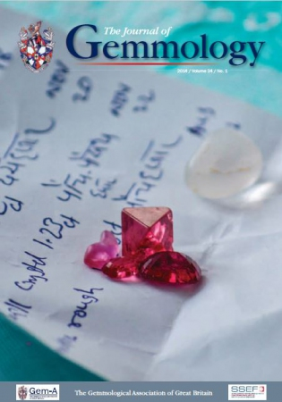 The Journal of gemmology Vol. 34 Issue 1