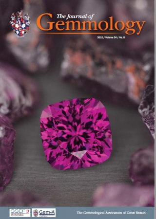 The Journal of gemmology Vol. 34 Issue 8