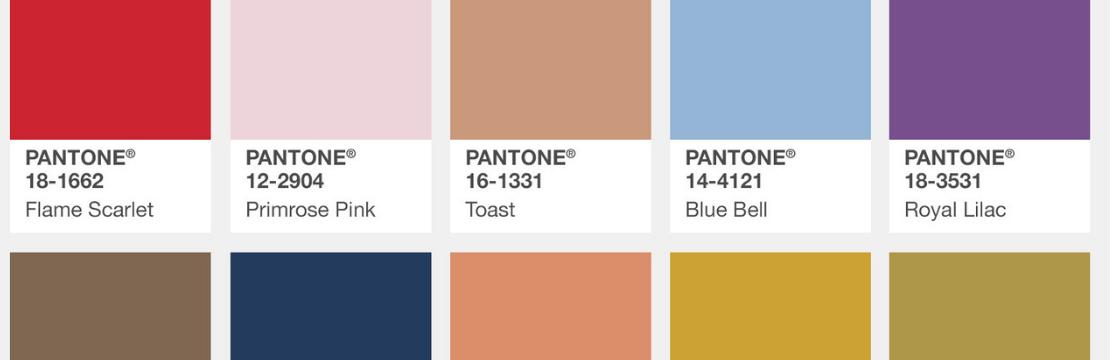 Pantone Fashion Color Report (Autumn/Winter 2019/2020)