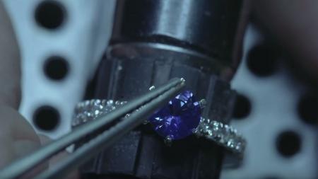 Platinum Ceylon Sapphire Ring, Part 2